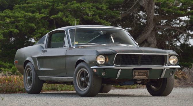 Ford Mustang GT Bullitt 1968 – SPRZEDANY