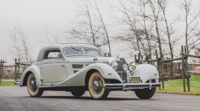 Mercedes 540 K Coupe 1937 – USA