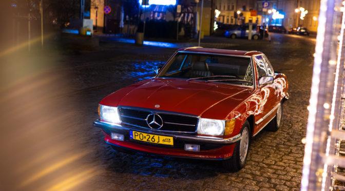 Mercedes 500 SL R107 1985 – 169000PLN – Poznań