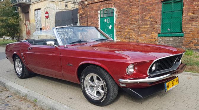 Ford Mustang Convertible 1969 – 145000PLN – Warszawa