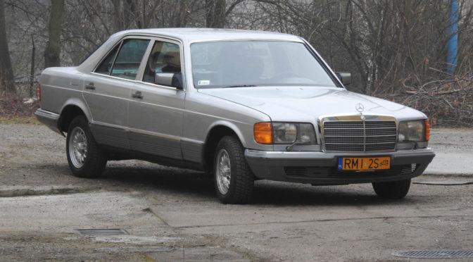 Mercedes 280 SE W126 1980 – 17000PLN – Mielec
