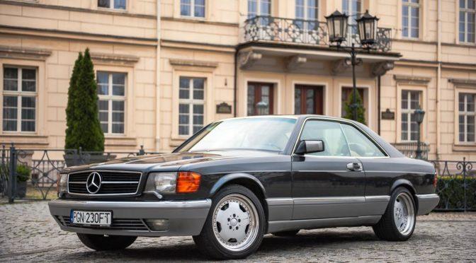 Mercedes 560 SEC C126 1987 – 92000PLN – Gniezno