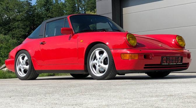 Porsche 911 Carrera 4 Targa 964 1990 – 179000PLN – Brenna