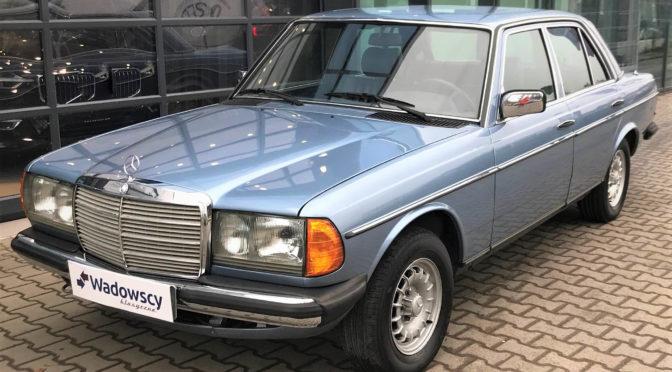 Mercedes 300D Turbodiesel W123 1985 – SPRZEDANY