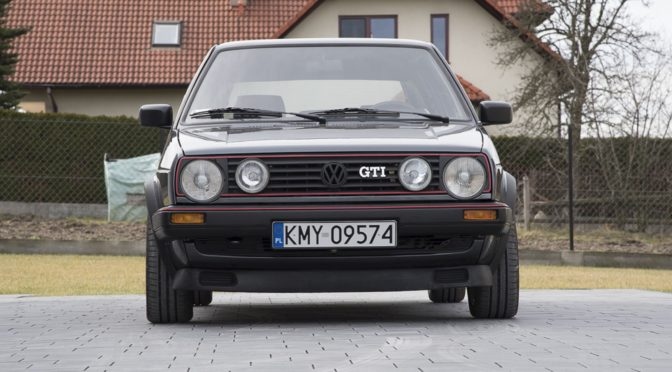 Volkswagen Golf GTi Mk2 1988 – 65000PLN – Myślenice