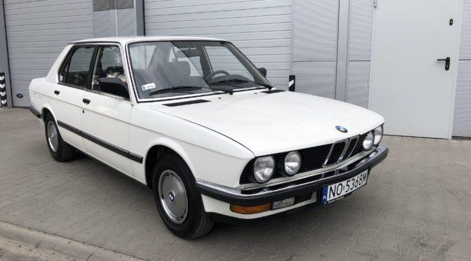 BMW 525e E28 1985 – SPRZEDANE