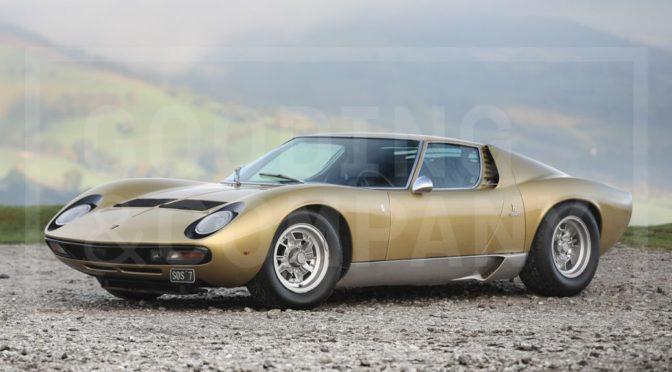 Lamborghini Miura P400 SV Speciale 1971 – SPRZEDANE