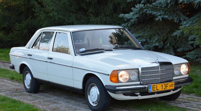 Mercedes 200 W123 1981 – 55900PLN – Łódź