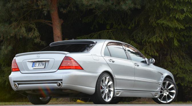 Mercedes S 600 L W220 2003 – 72000PLN netto – Brzeziny