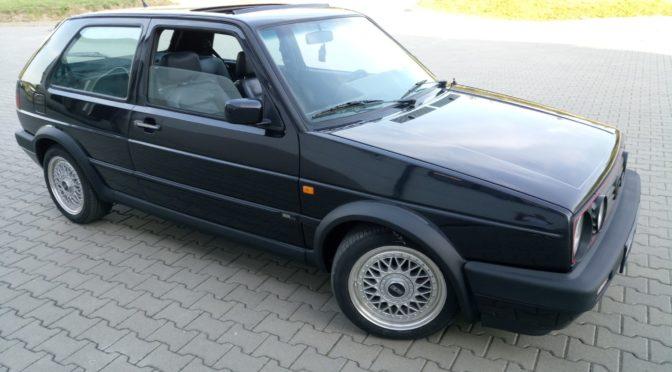 Volkswagen Golf GTi Edition Blue Mk2 1991 – 38000PLN – Złotoryja