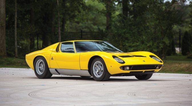 Lamborghini Miura P400 S 1969 – USA