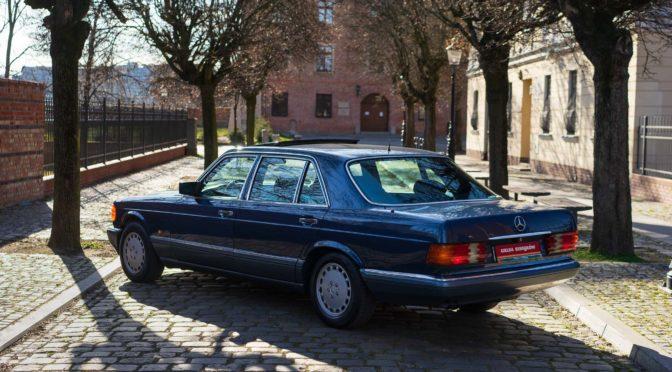 Mercedes 300 SEL W126 1990 – SPRZEDANY
