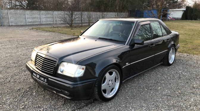 Mercedes 500E W124 1992 – SPRZEDANY