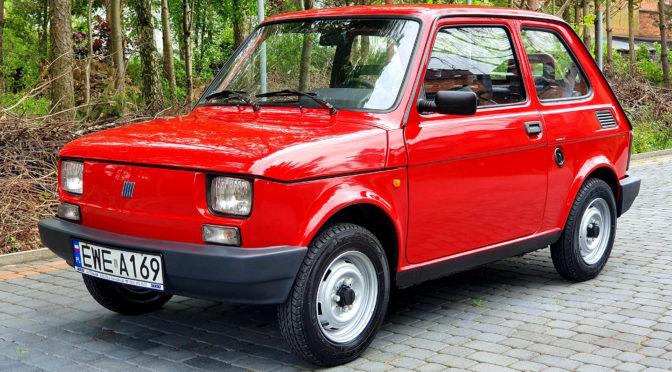 Fiat 126 Maluch Town 2000 – SPRZEDANY