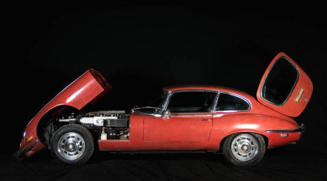 Jaguar E-Type V12 S3 1973 – 155000PLN – Tomaszów Mazowiecki