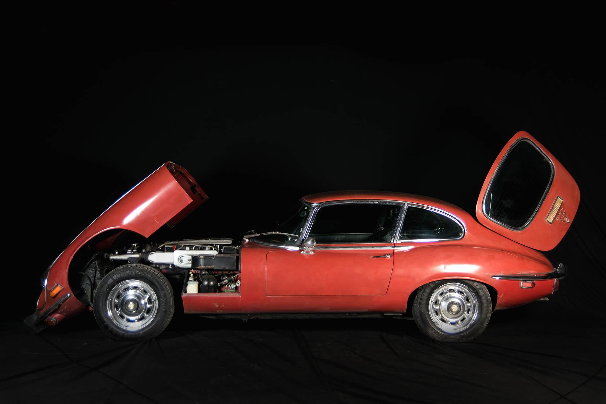 Jaguar E-Type V12 S3 1973 - 155000 PLN - Tomaszów ...
