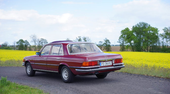 Mercedes 280S W116 1977 – 63000PLN – Poznań