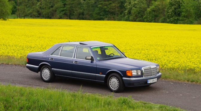 Mercedes 300 SEL W126 1990 – 39000PLN – Poznań