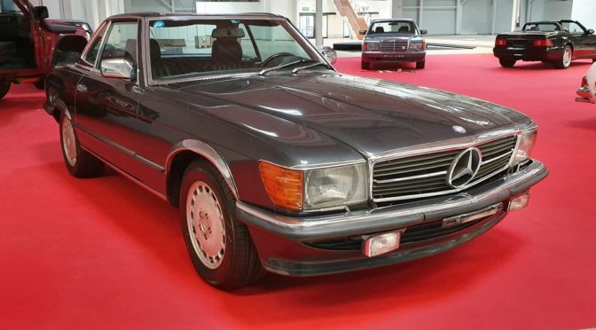 Mercedes 500 SL R107 1987 – 179000PLN – Dębe Wielkie
