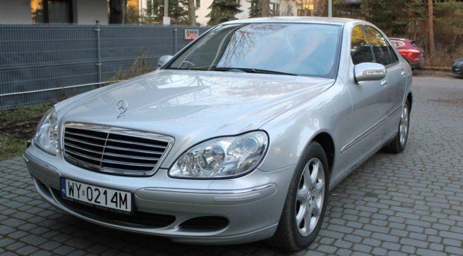 Mercedes S 430 4Matic W220 2005 – 59900PLN –