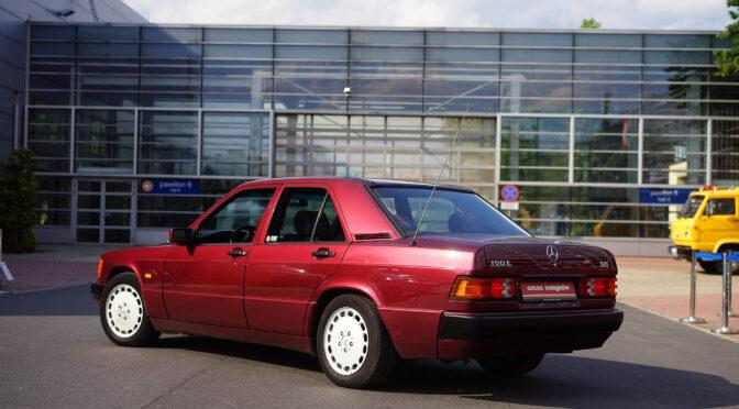 Mercedes 190E Avantgarde Rosso W201 1992 – SPRZEDANY
