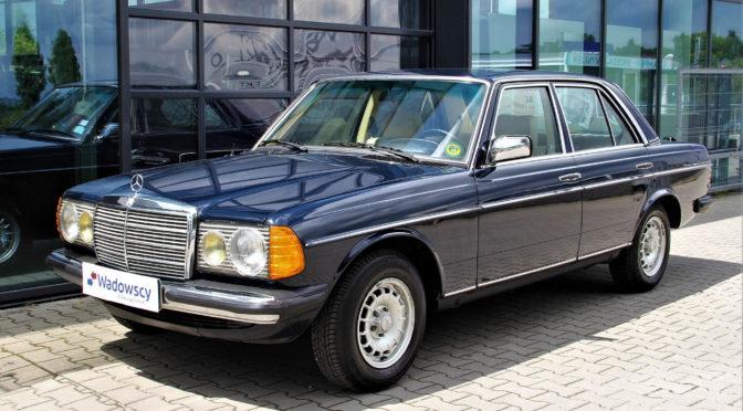 Mercedes 240D W123 1981 – 92000PLN – Gaj