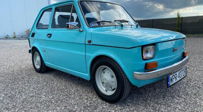 Polski Fiat 126p 1978 – SPRZEDANY