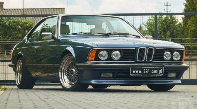BMW 635 CSi E24 1982 – SPRZEDANE