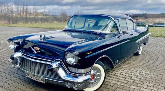 Cadillac Sedan De Ville Series 62 1957 – 180000 PLN – Olsztyn
