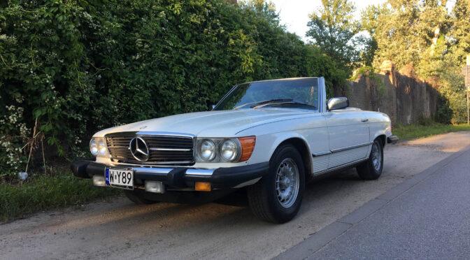 Mercedes 450 SL R107 1979 – SPRZEDANY