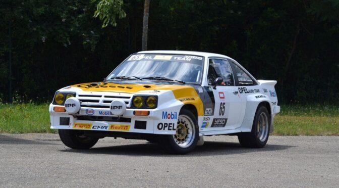 Opel Manta 400 1983 – SPRZEDANY