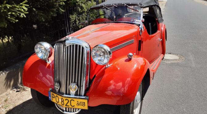 Singer 9 Roadster 1939 – 98000PLN – Poznań