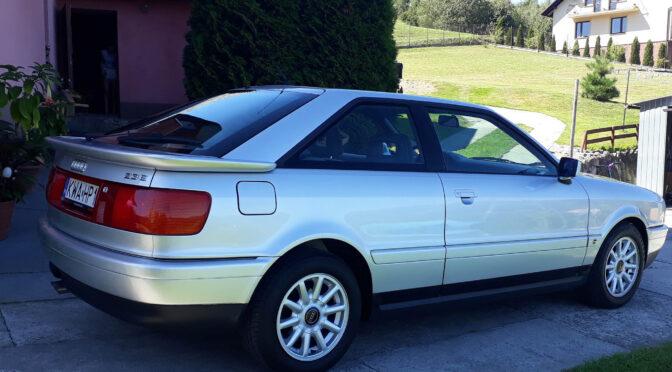 Audi Coupe 8B 1992 – SPRZEDANE
