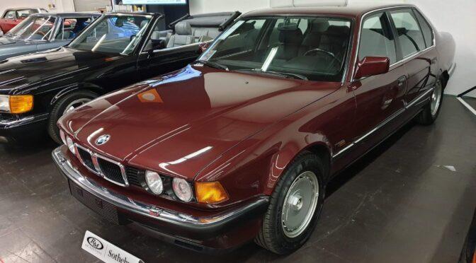 BMW 750iL E32 1989 – 99000PLN – Gdynia