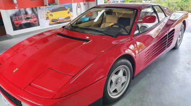 Ferrari Testarossa 1986 – Tomaszów Mazowiecki