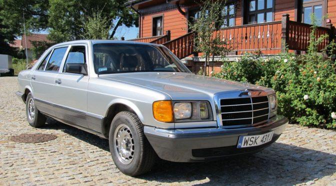 Mercedes 380 SEL W126 1982 – 99000PLN – Hołowienki