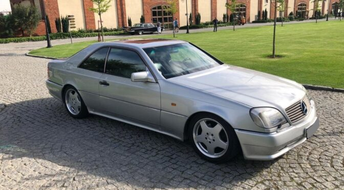 Mercedes S 600 AMG Coupe C140 1993 – 99000 PLN – Wrocław