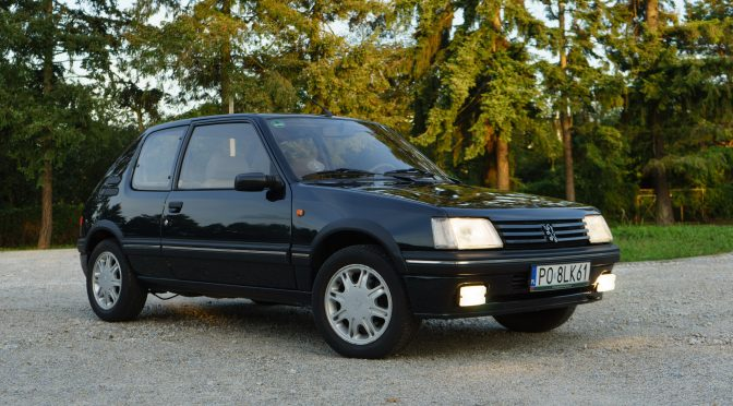 Peugeot 205 Gentry 1993 – 45000PLN – Poznań