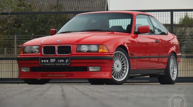 Alpina B3 3.2 Coupe E36 1996 – 127000PLN – Dębe Wielkie