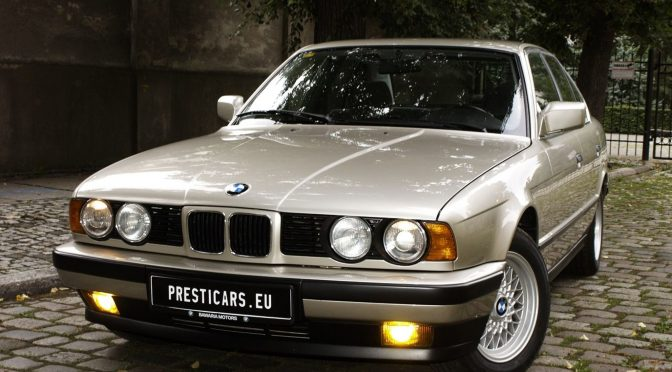 BMW 530i E34 1988 – 53530PLN – Poznań