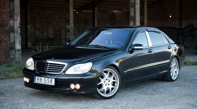Brabus S 500 – 5.8 W220 1999 – 99000PLN – Dębica
