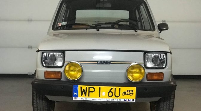 Fiat 126 Silver 1979 – 26900PLN – Wola Gołkowska