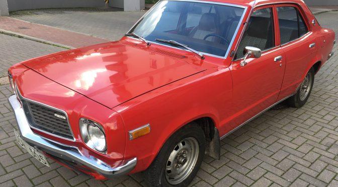 Mazda 818 Deluxe 1977 – SPRZEDANA