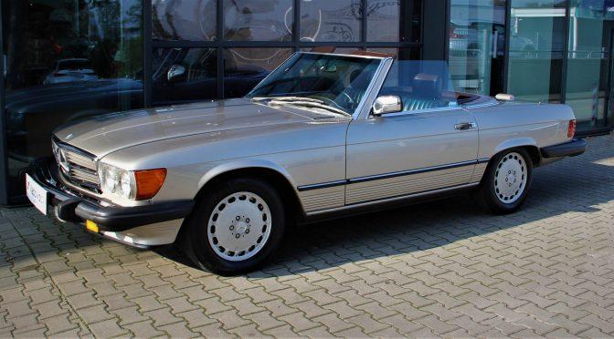 Mercedes 560 SL R107 1988 – 120000PLN – Gaj