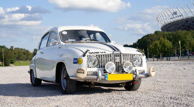 Saab 96 V4 Rally 1967 – SPRZEDANY