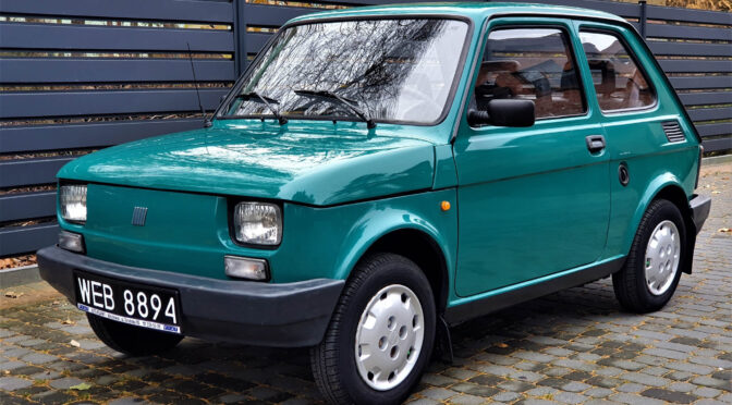 Fiat 126 Maluch Town 1999 – SPRZEDANY