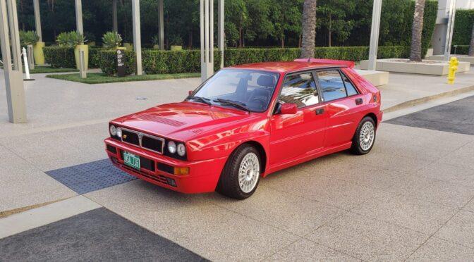 Lancia Delta HF Integrale Evoluzione 1992 – USA