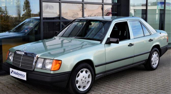 Mercedes 300D W124 1988 – 55000PLN – Gaj