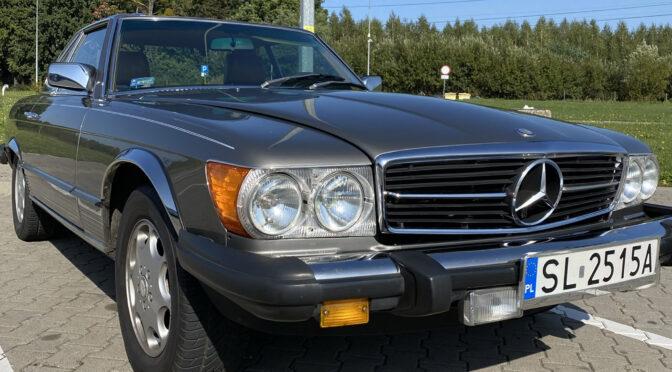 Mercedes 380 SL R107 1983 – SPRZEDANY