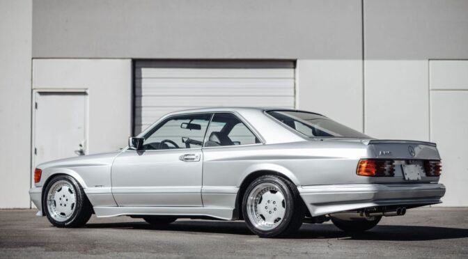Mercedes 560 SEC AMG 6.0 WideBody 1989 – USA